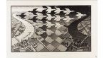 """Day and Night"" by M.C. Escher © The M.C. Escher Company B.V.- Baarn – the Netherlands"
