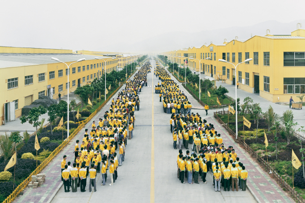 "Photo title: ""Manufacturing #18"" Cankun Factory, Zhangzhou, Fujian Province, China Photo: Edward Burtynsky"