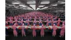 "Photo title: ""Manufacturing #17"", Deda Chicken Processing Plant, Dehui City, Jilin Province, 2005 Photo: Edward Burtynsky"
