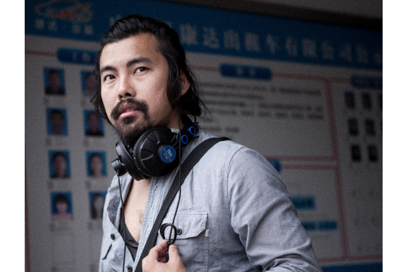 Johnny Ma, writer and director of OLD STONE. A Zeitgeist Films release.