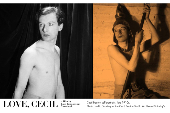 Cecil Beaton self portraits, late 1910s. Courtesy of the Cecil Beaton Studio Archive at Sotheby's.