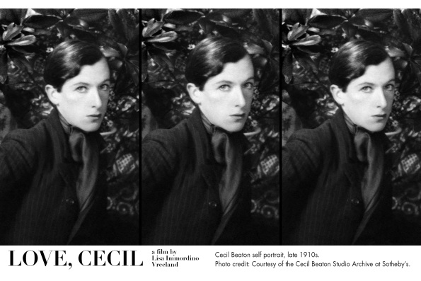 Cecil Beaton self portrait, late 1910s. Courtesy of the Cecil Beaton Studio Archive at Sotheby's.
