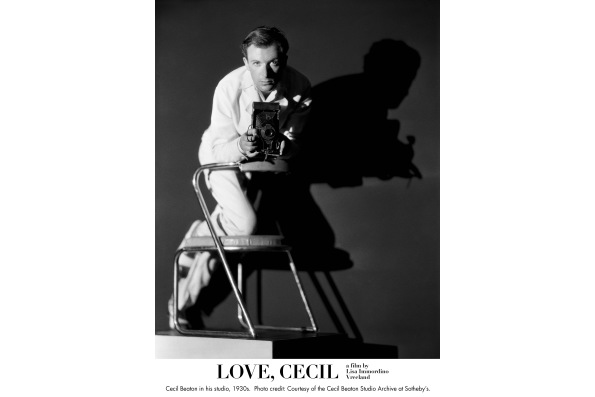 Cecil Beaton in his studio, 1930s. Courtesy of the Cecil Beaton Studio Archive at Sotheby's.