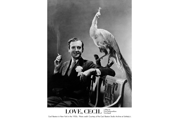 Cecil Beaton in New York in the 1930s. Courtesy of the Cecil Beaton Studio Archive at Sotheby's.