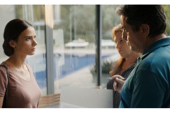 A scene from WORKING WOMAN. A film by Michael Aviad. A Zeitgeist Films release in association with Kino Lorber.