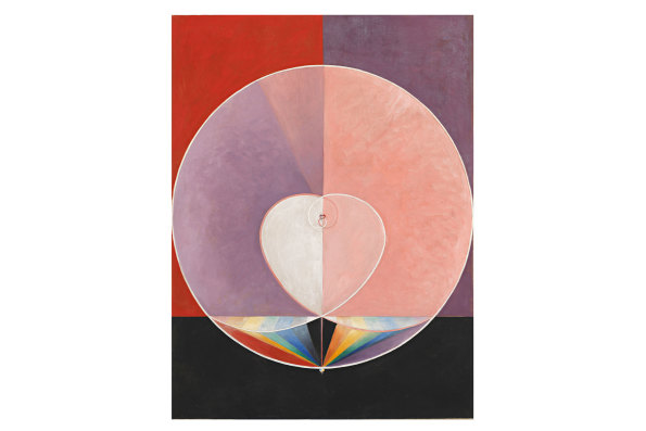 The Dove II, a painting by Hilma af Klint.