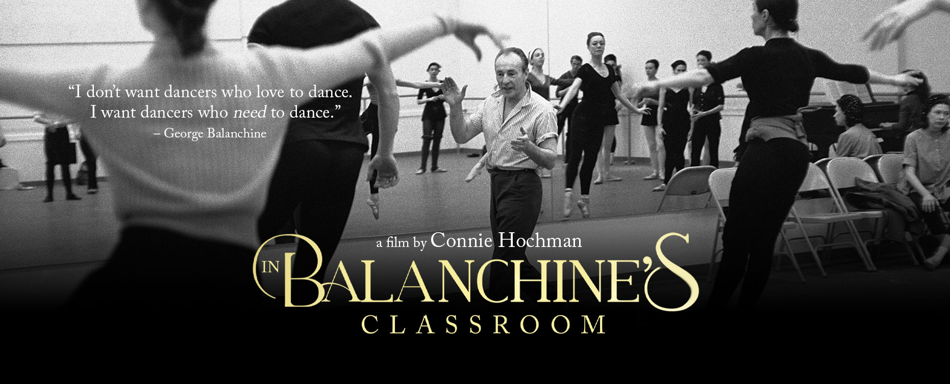IN BALANCHINE'S CLASSROOM
