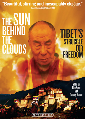 The Sun Behind the Clouds: Tibet's Struggle for Freedom [DVD]