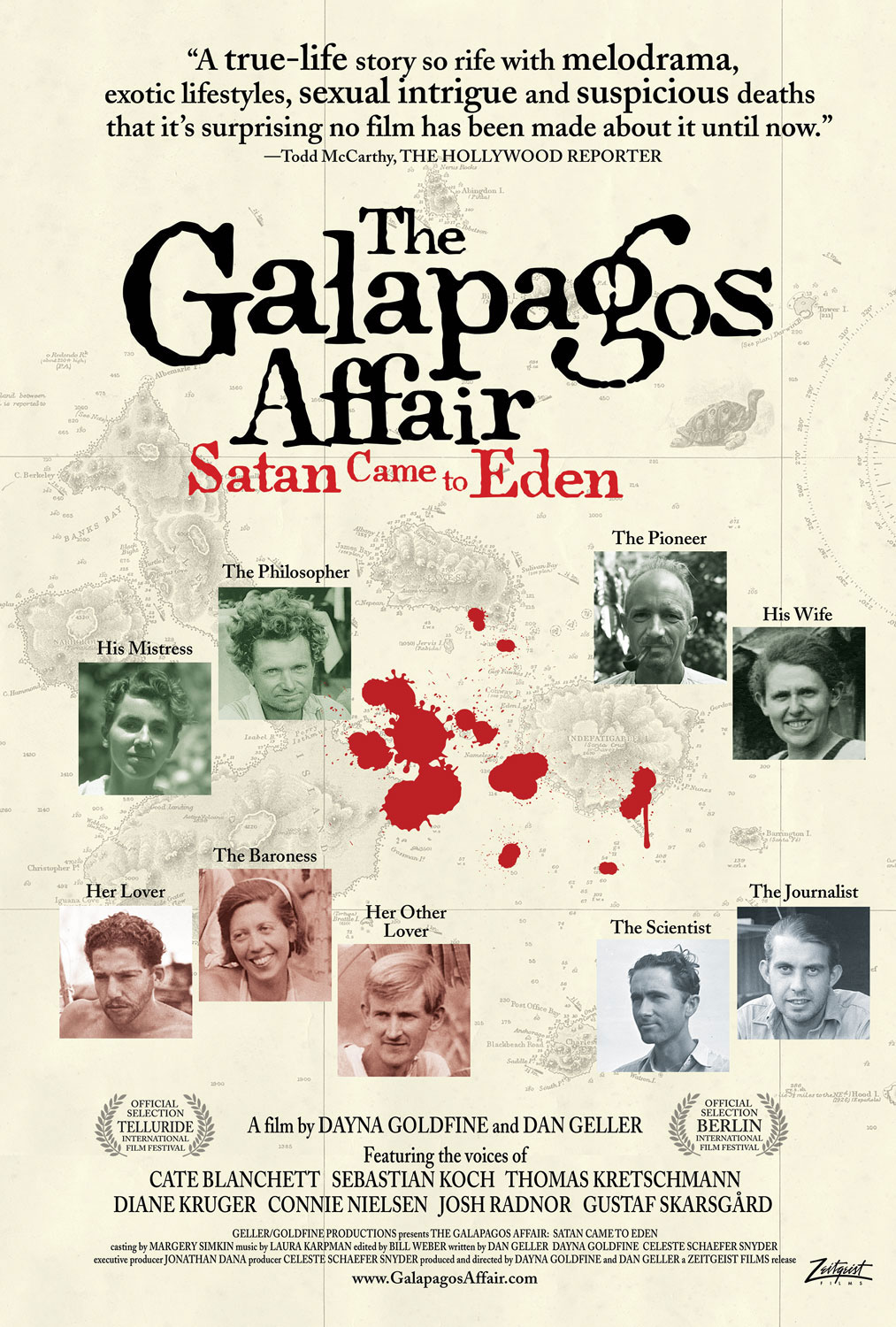 The Galapagos Affair: Satan Came to Eden [DVD]