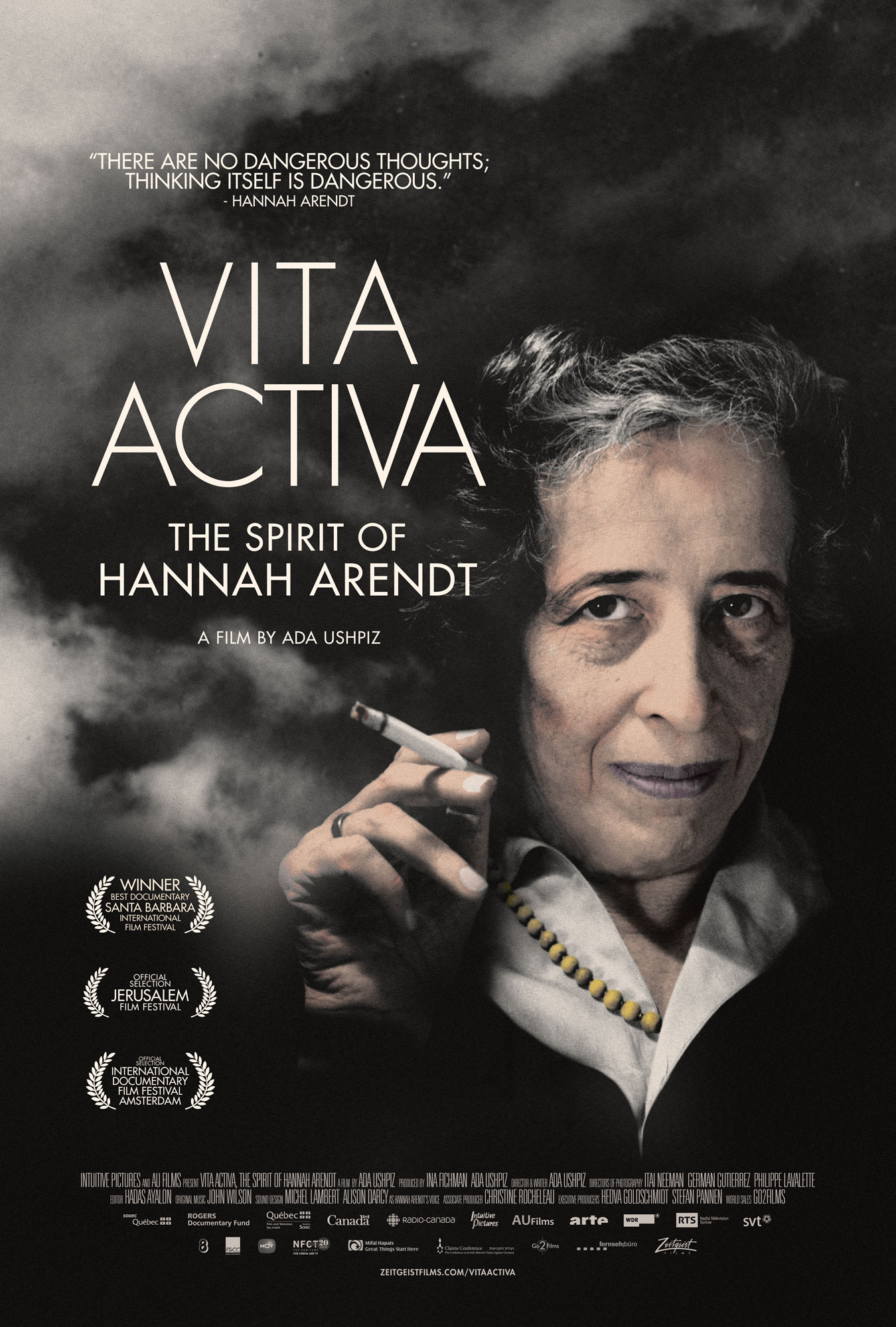 Vita Activa - The Spirit of Hannah Arendt [DVD]