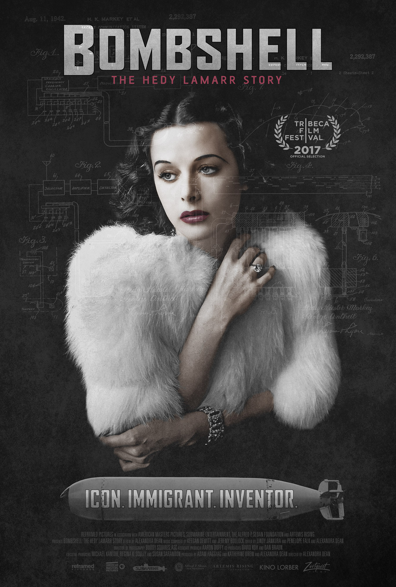 Bombshell: The Hedy Lamarr Story [Blu-ray]