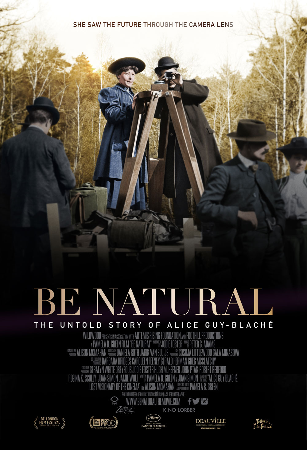 Be Natural: The Untold Story of Alice Guy-Blaché [DVD]