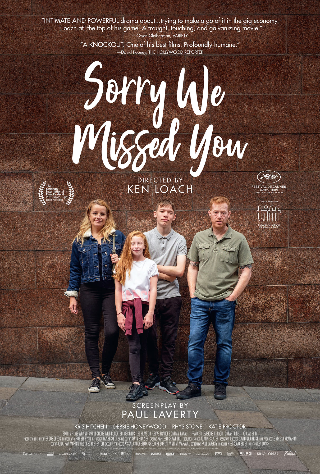 Sorry We Missed You [Blu-ray]