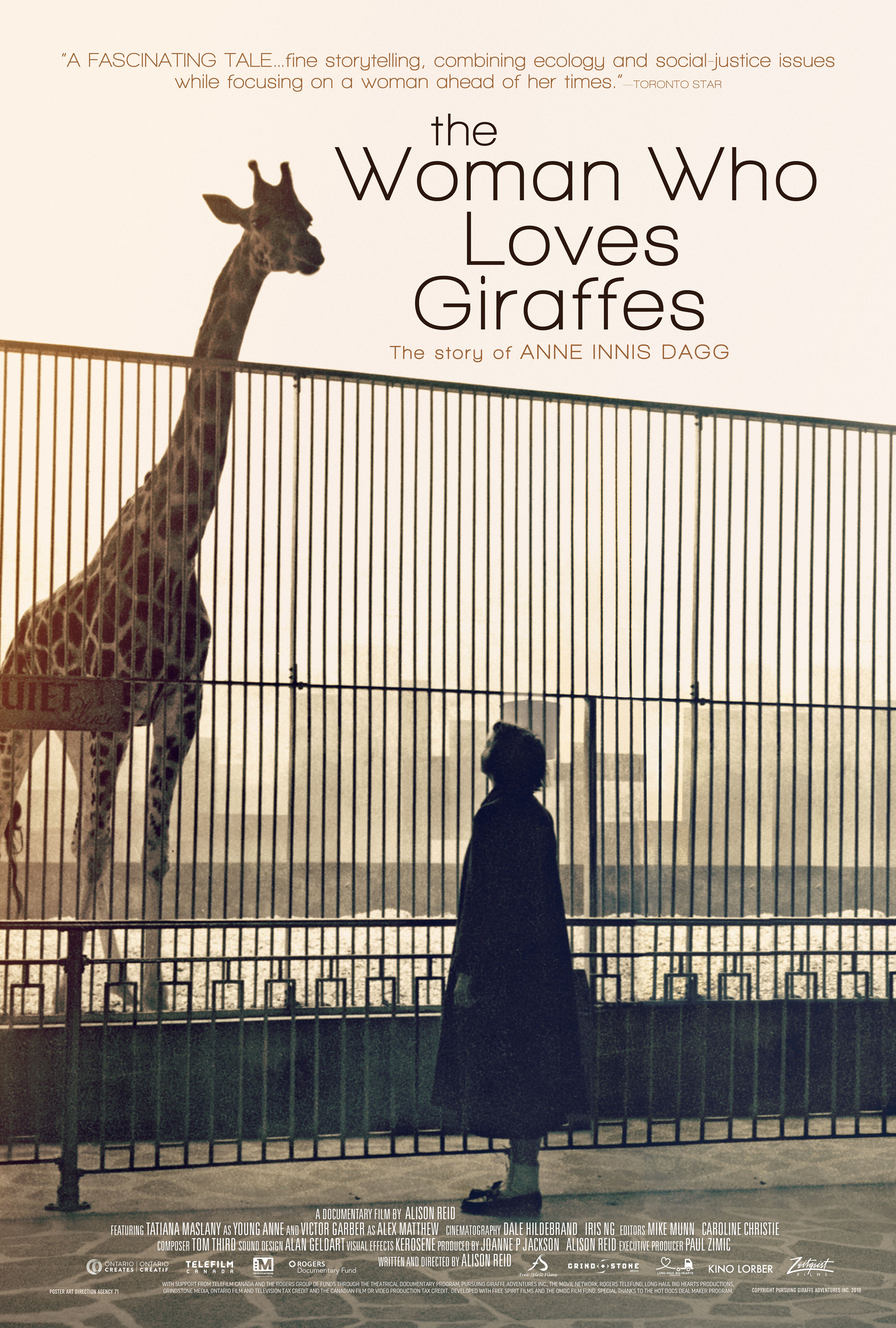 The Woman Who Loves Giraffes [Blu-ray]